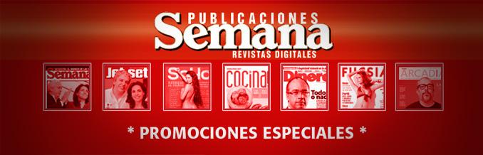 Promociones especiales de Publicaciones Semana en edición digital.
